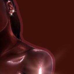 aesthetic artisticedit shiny highlight melanin