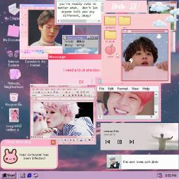 jimin bts promise mochi pink