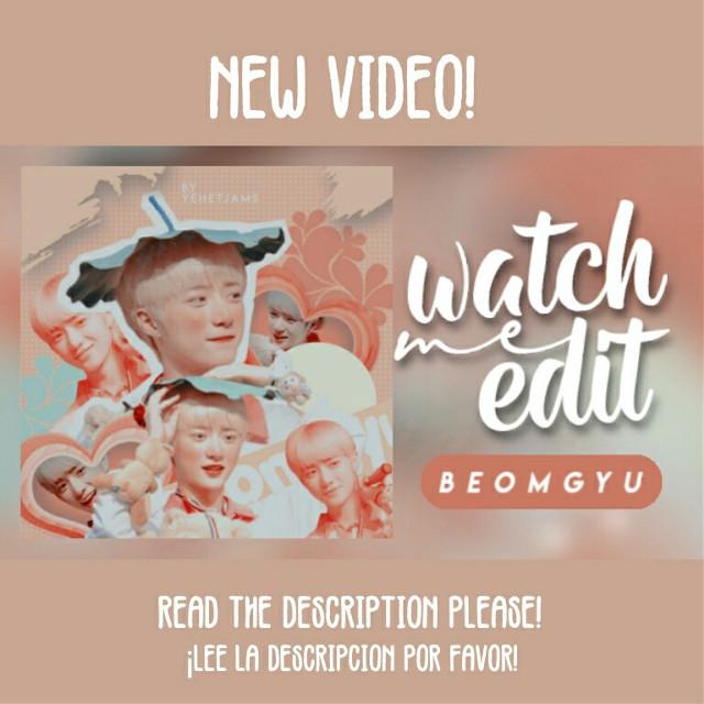 LINK; https://youtu.be/3gcx_5PJyEY Espero que les guste!! No se olviden de Suscribirse 🤗❣❣ • • • • Si deseas algún video de mis ediciones de Instagram o Picsart no olvides decírmelo!! • • • • • #kpop #txt #kpoptxt #beomgyu #txtbeomgyu #kpopedit #kpopidol #youtube #newvideo