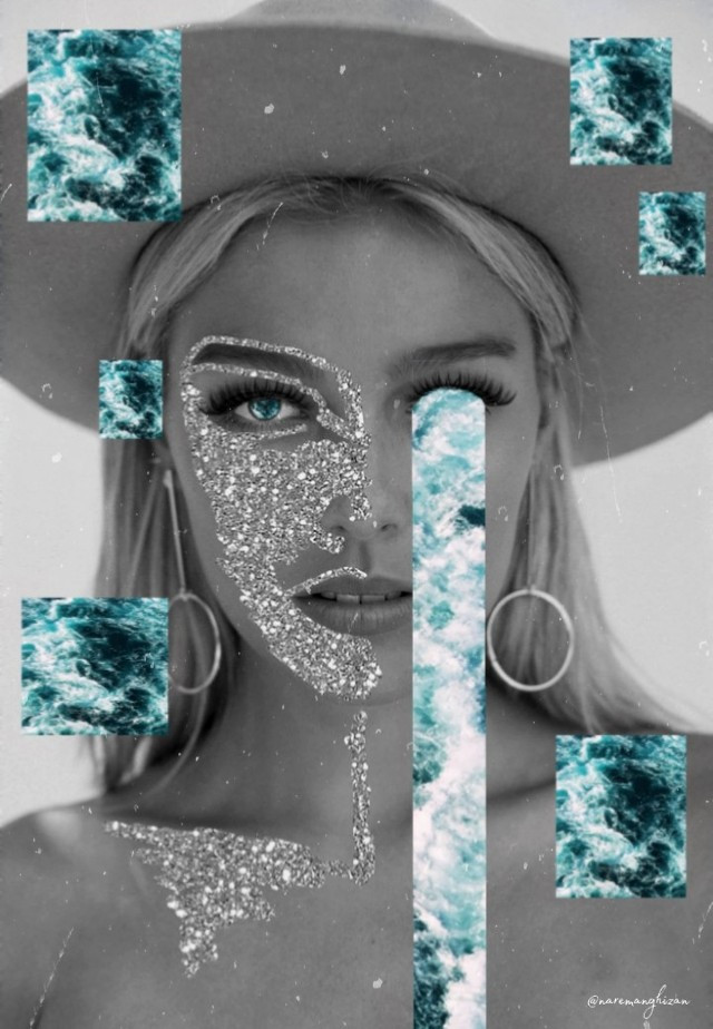 The most dramatic edit yet ✨ 🌊 Edit by @naremanghizan #glitter #sparkle #waterfall #abstract #freetoedit