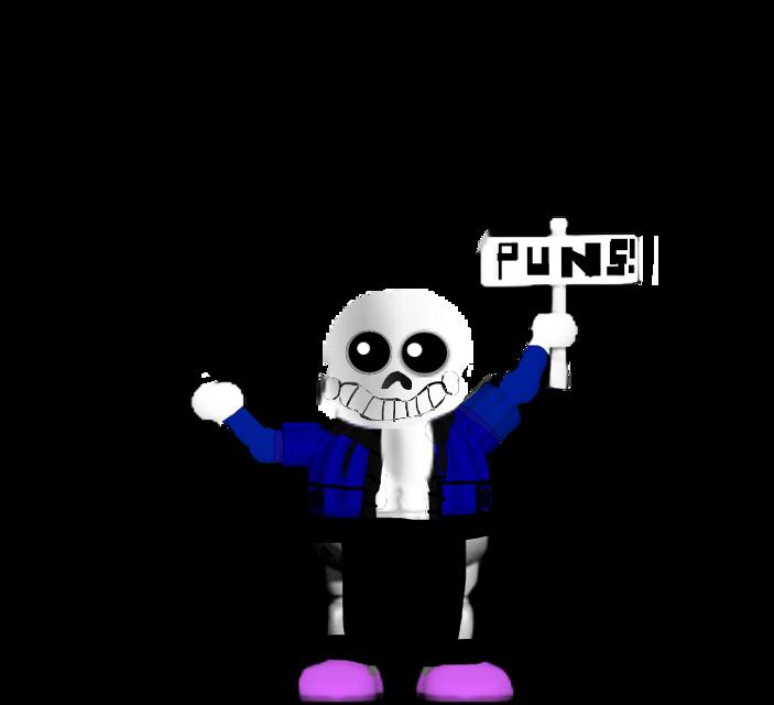 Pun Sans #undertale #fnaf2 #sansundertale #balloonboy #meme #freetoedit