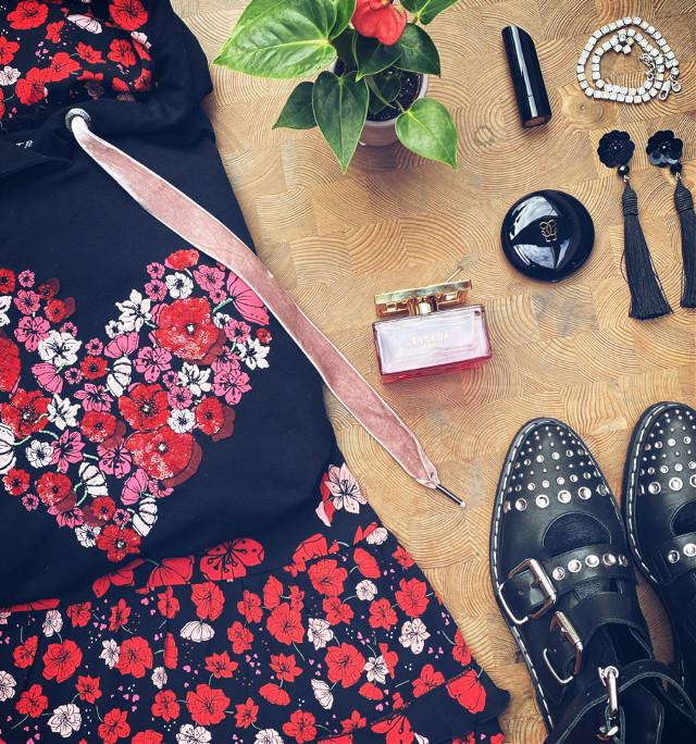 ———— bloom baby, bloom———— 🌺❤️     #interesting #loveislove #roses #red #fashion #myoutfit #fashionart #night #flatlay #flatdesign #pink #myphoto #myfavshot #pcshelfiesandflatlays #shelfiesandflatlays