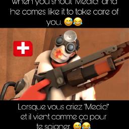tf2 teamfortress2 medic medictf2 redmedic freetoedit