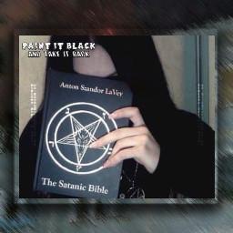 freetoedit grunge satan satanic satanicbible
