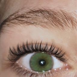 freetoedit greeneyes sparkles eyelashes beauty