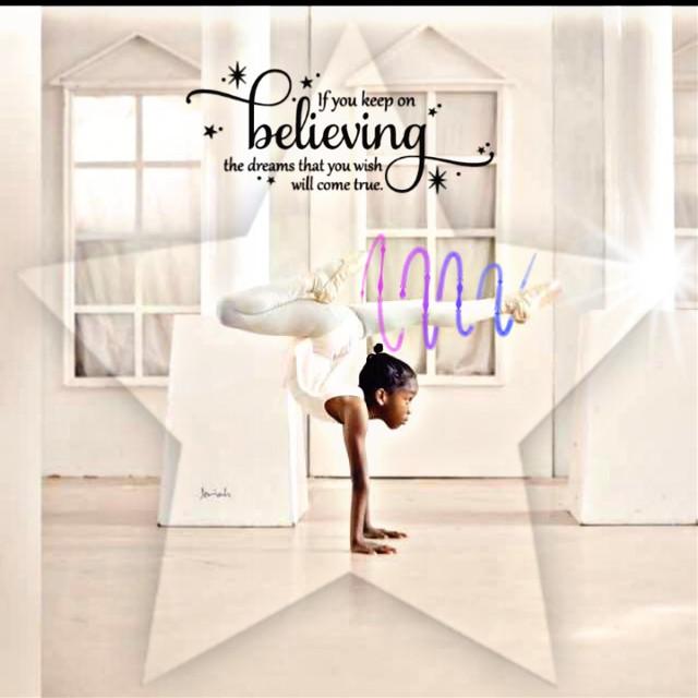 #freetoedit #balerina #dreams #believeinyourself