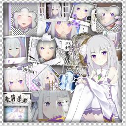 emilia rezero rezeroemilia emiliaedit animedit freetoedit