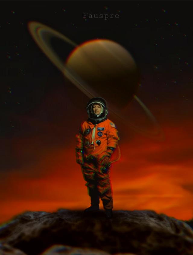 Infinito y más allá..😉 #saturn  #space  #planet  #madewithpicsart  #heypicsart  #fauspre  #surreal  #myedit