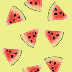 freetoedit wallpaper watermelon🍉 watermelon kawaii