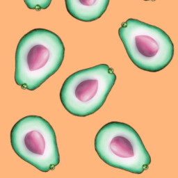 freetoedit orange abacate avocado avocadostickers