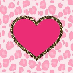pink white animal print animalprint