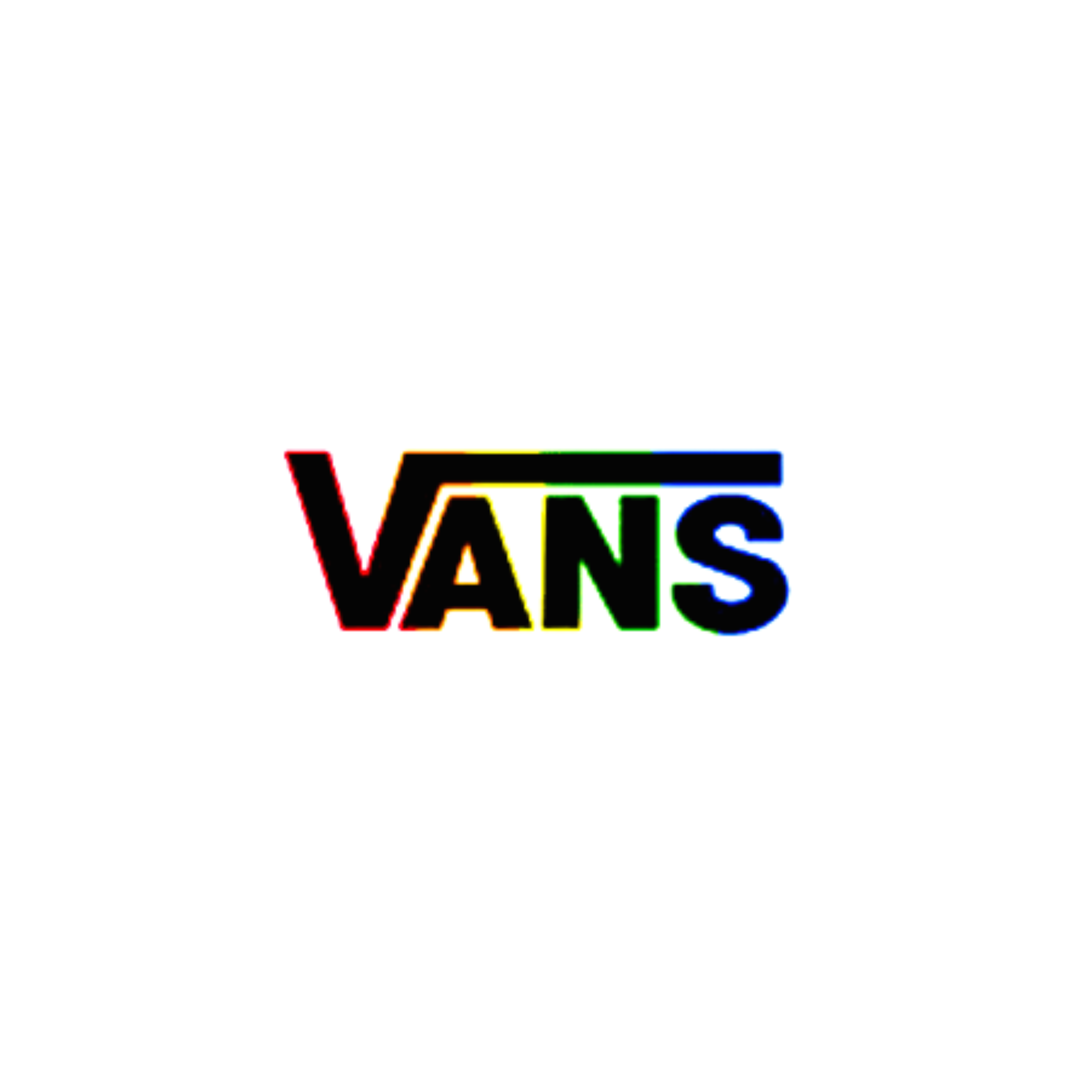 vans shoes logo cute rainbow brands