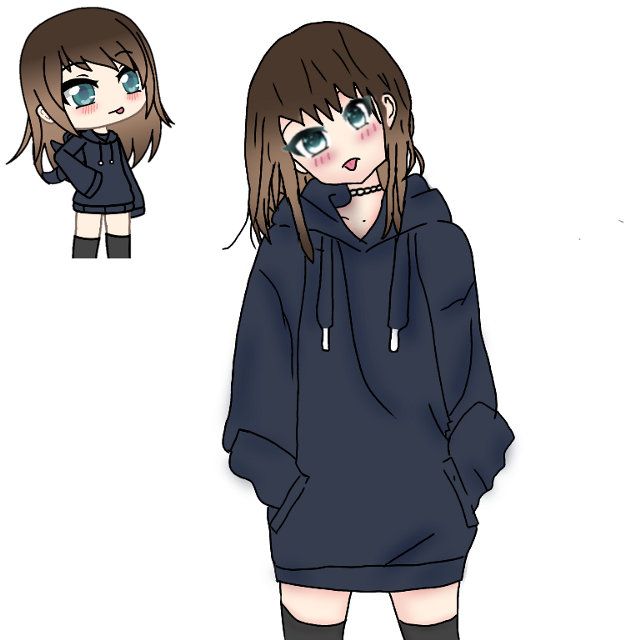 #animeedit #gachalifeedits mi primer intento de un edit anime de gacha life ✌