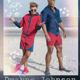 dwaynejohnson therock zaceffron baywatch freetoedit rccooldoodles cooldoodles creatfromhome stayinspired