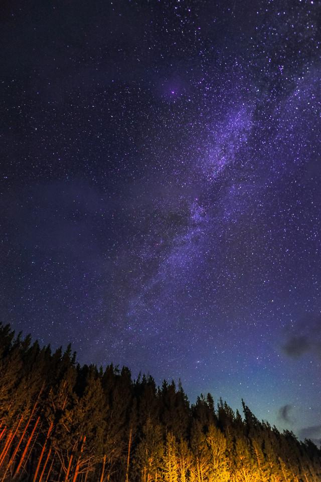 Let your creativity shine! Unsplash (Public Domain) #sky #stars #galaxy #background #backgrounds #freetoedit