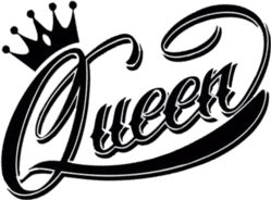 queen crown black color freetoedit