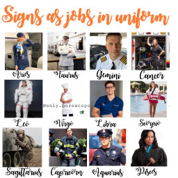 job uniform work horoscope horoscopesigns