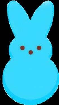 peeps bunny spring easter freetoedit