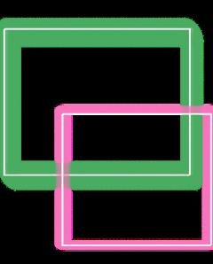 neon squares freetoedit