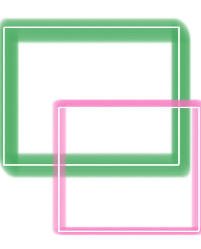 #neon #squares