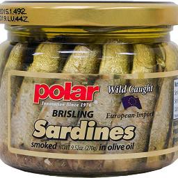 polar wildcaught sardines brisling oliveoil freetoedit