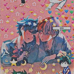 todoroki deku gaylove anime dekuroki