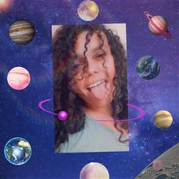 freetoedit remix nasa galaxy plant