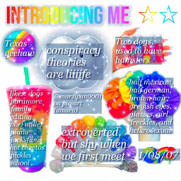 niche introduction me rainbow