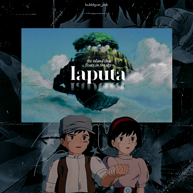 𝒄𝒂𝒔𝒕𝒍𝒆 𝒊𝒏 𝒕𝒉𝒆 𝒔𝒌𝒚  i thought i would post another interview today but i just wasted my time watching kota factory (well it's worth the time though).  tags- #castleinthesky #studioghibli #anime #animeedits #laputa