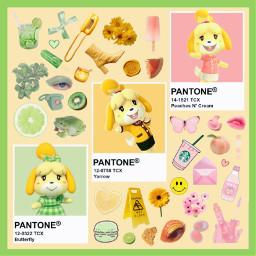 animalcrossing isabelle pastel pastelaesthetic soft freetoedit