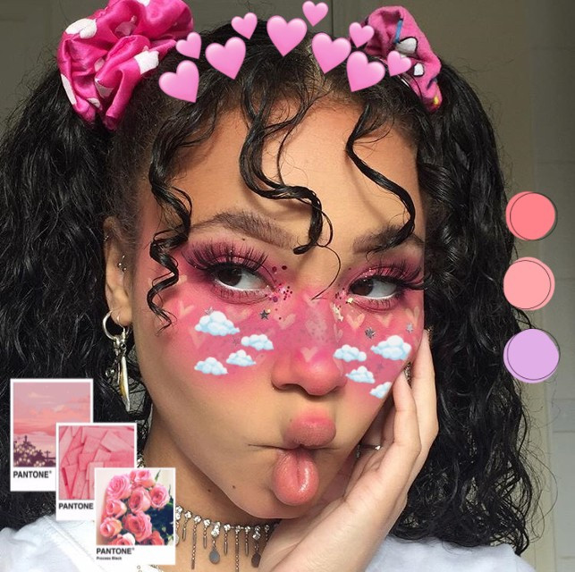 Shoutout to @bi_luyncherry for winning 2nd place 🥈in the #CreateFromHome Freestyle Editing Challenge 🏆#freestyle #create #aesthetic #pink #freetoedit