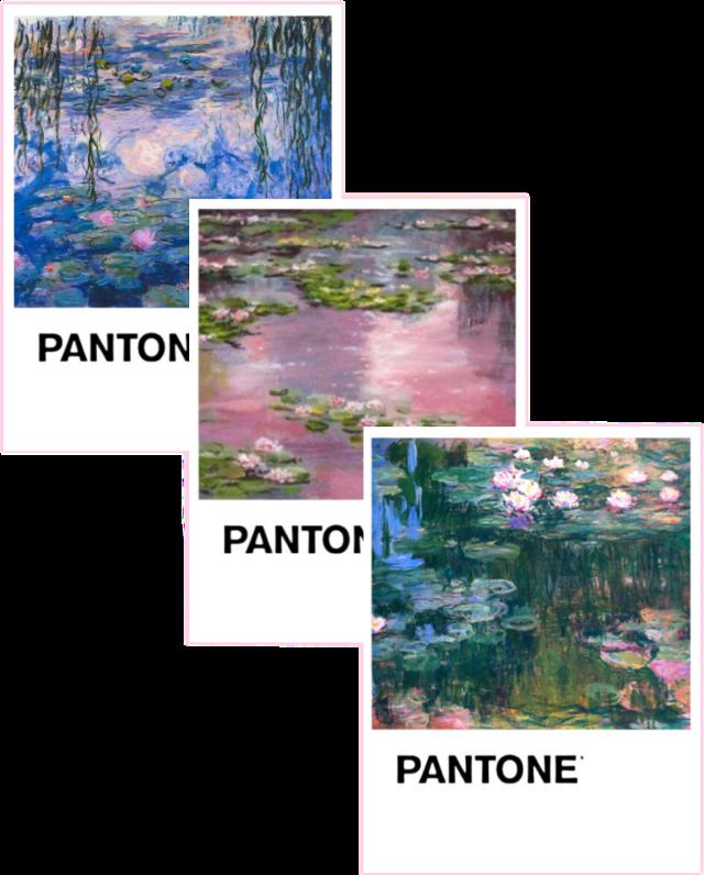 #arthoeaesthetic #arthoe #aesthetic #lilypad #lily #art #pinkaesthetic #monet #aestheticsticker #pantone