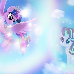 mylittlepony princesstwilightsparkle twilightsparkle starlightglimmer magic freetoedit