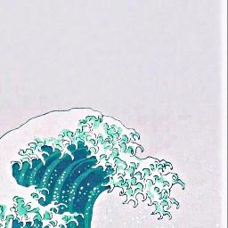 freetoedit waves aesthetic beach