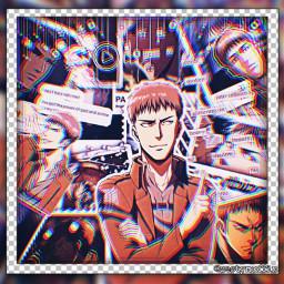 jean jeankirschstein kirschstein kirschsteinjean aot attackontitan snk shinjekinokyojin anime animeboy animeedit horse horseedit freetoedit