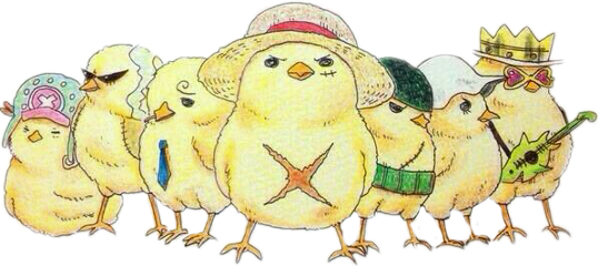 poussin kawaii paque luffy onepiece freetoedit sceaster easter