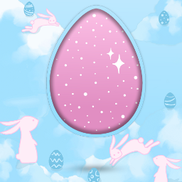freetoedit frame stayinspired easter bunny ftestickers