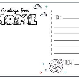 freetoedit personalizedpostcards