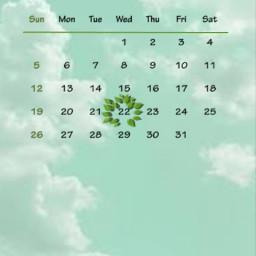 freetoedit aprilcalender april calender green srcaprilcalendar aprilcalendar