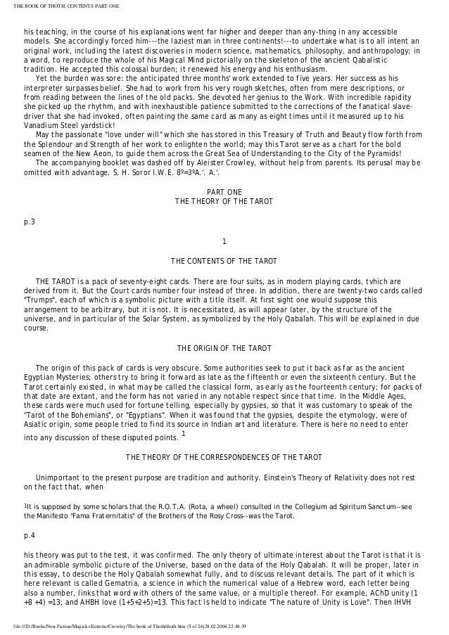 O Livro De Thoth O Tarot Aleister Crowley Pdf Download o livro de thoth o tarot aleister crowley pdf   O Livro De Thoth O Tarot Aleister Crowley Pdf Download ->->->-> http://cinurl.com/1cdfdt        O Livro de Thoth o Tarot ... Tarô de Crowley Palavras-Chave. - 21%. Tarô de Crowley Palavras-Chave. Crowley,Aleister. Vendido por Jefte Livros. R$ 39,90 R$.... Compre o livro «Tarô de Crowley» de Hajo Banzhaf, Brigitte Theler em wook.pt. 10% de desconto ... Hajo Banzhaf · KEYWORDS FOR THE CROWLEY TAROT.. Livro de Thoth (O Taro Egipcio) Um Curto Ensaio Sobre o Taro dos Egipcios sendo THE EQUINOX, VOLUME III, NUMERO V pelo MESTRE.... Abaixo segue uma seleção de livros para download. ... Reference By Benjamin Rowe · Enochian World Of Aleister Crowley – Lon Milo DuQuette · Entidades.... Videos de Frater Goya sobre o Tarot de Thoth, criado por Aleister Crowley com pinturas de Lady Frieda Harrys nas primeiras décadas do século passado.. Ilustrações de Aleister Crowley Thoth Tarot® reproduzido por uma permissão da AGM ... Todavia, antes de adentrar especificamente no escopo do livro aqui.... O Livro de Thoth, Aleister Crowley: ... Um tarot que tanto pode ser usado para a advinhação como para adentrar e ... Livro -> Download aqui.. Download 23601941 Aleister Crowley O Taro de Thoth Interpretacao Dos Arcanos... ... DOWNLOAD PDF - 959.7KB. Share Embed Donate.. O assunto do livro - o Tarot é chamado de O Livro de Thoth ou Tahuti - é a influência dos dez números e das vinte e duas letras sobre o ser humano, e seus.... O Livro De Thoth O Tarot Aleister Crowley Pdf Download > http://urllio.com/y99ca 4f22b66579 O Livro De Thoth- O Tarot (Portugus) Capa.... Aqui vai uma lista de sugestões gerais: 777 (pdf). Aleister Crowley e outros. A Arte da Guerra.. O Livro de Thoth Tarot, Download O Livro de Thoth Tarot, Free O.... Baixe no formato DOC, PDF, TXT ou leia online no Scribd. Sinalizar ... 23601941 Aleister Crowley O Taro de Thoth Interpretacao Dos Arcanos.. DOWNLOAD ... Página - 7 Tarot