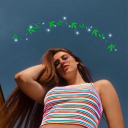 freetoedit girl shirt glasses stripes