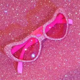 pink sunglasses vintage 90saesthetic aesthetic freetoedit