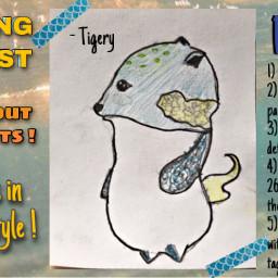 tigerychallenge freetoedit contest drawingcontest drawthisinyourstyle drawing challenge artists