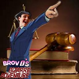 freetoedit phoenixwright edit parody brovosbizarreadventure