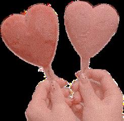 aesthetic ice icecream heart hearts freetoedit
