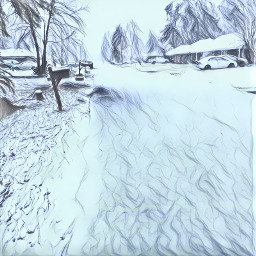 sketchyeffect sketchy fx snow snowy