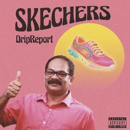 sketchers dripreport pink albumcover album