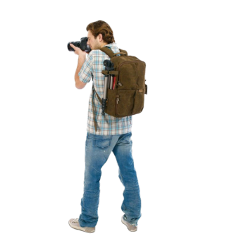 freetoedit man backpack camera