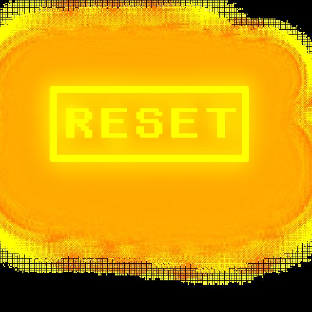 When it make mistakes or it want to it will reset #freetoedit #undertale #reset #pixel  #ibispaintx