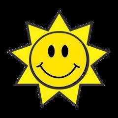 freetoedit sun sol adesivo stickers